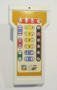 Hand held remote control